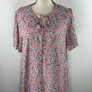 NWT Pink floral dress